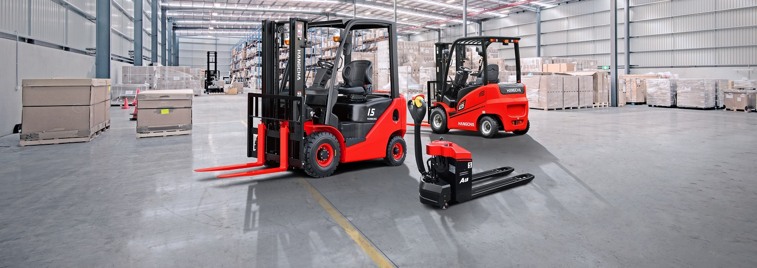 Forklifts and materials handling